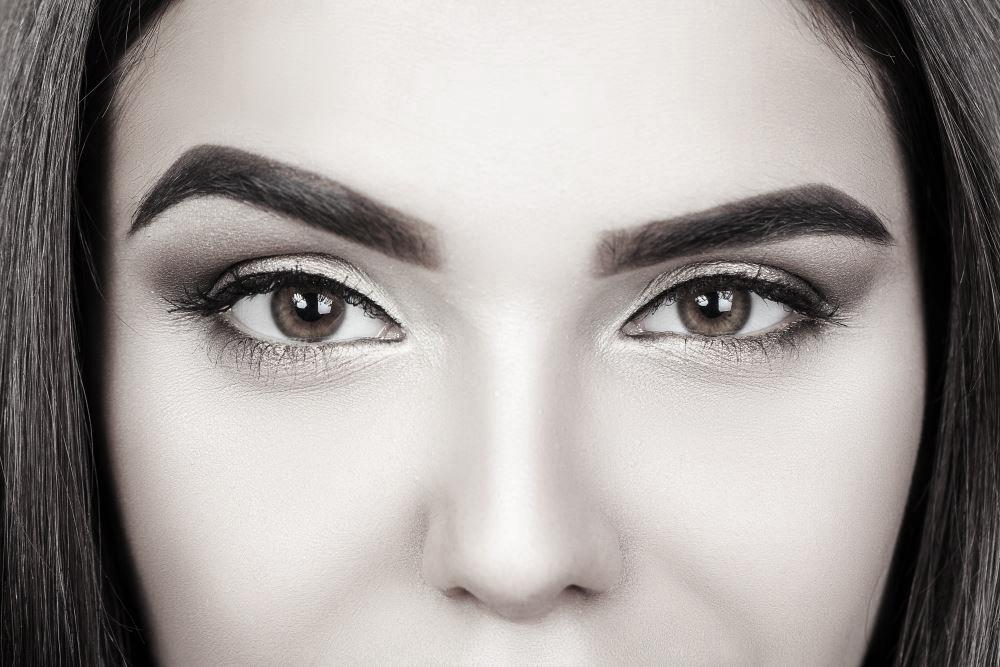 Lidschatten-Farbe für braune Augen